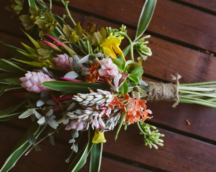 Wedding Bouquet at The Remote Resort Fiji Islands