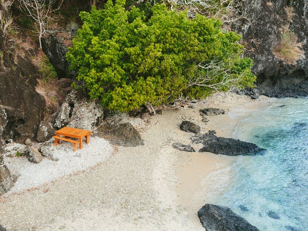 Hidden Beach Castaway Day at The Remote Resort Fiji Islands