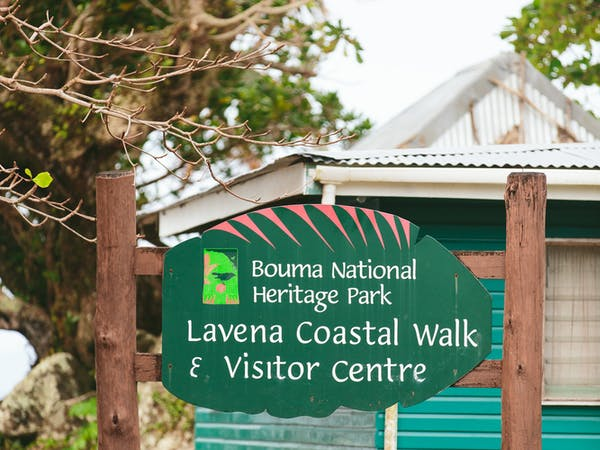 Entrance to Bouma National Heritage Park on the Taveuni Insider from The Remote Resort Fiji Islands