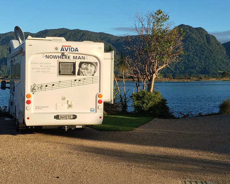 Powered Campervan Site
