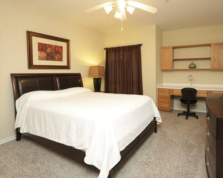 Our upgraded linen package will ease you gently into a restful sleep.