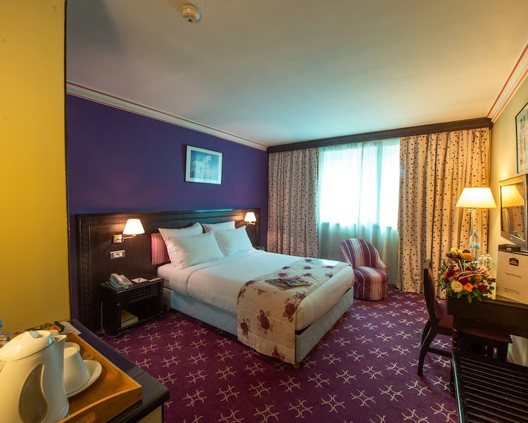 Superior single room / Chambre supérieur single Best western Casablanca