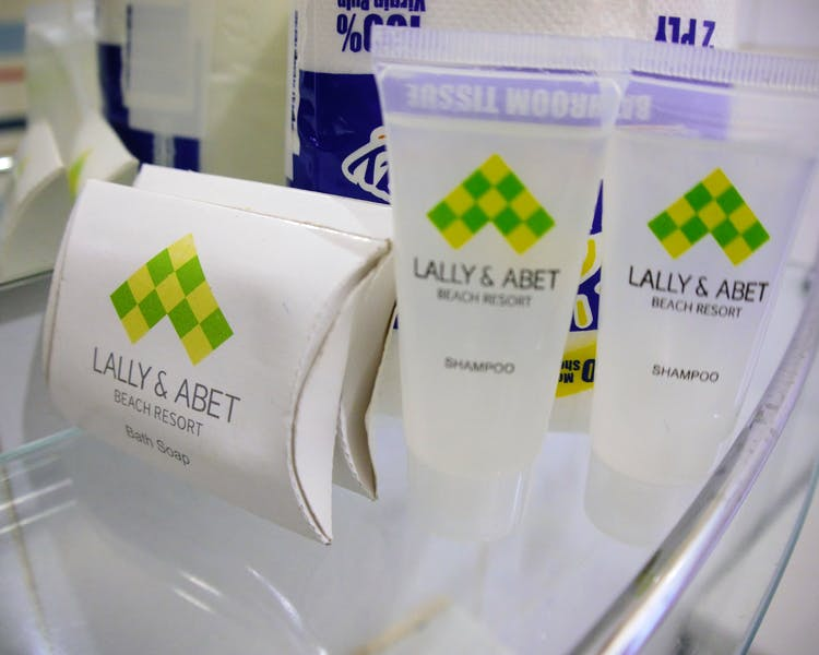 Lally & Abet toiletries
