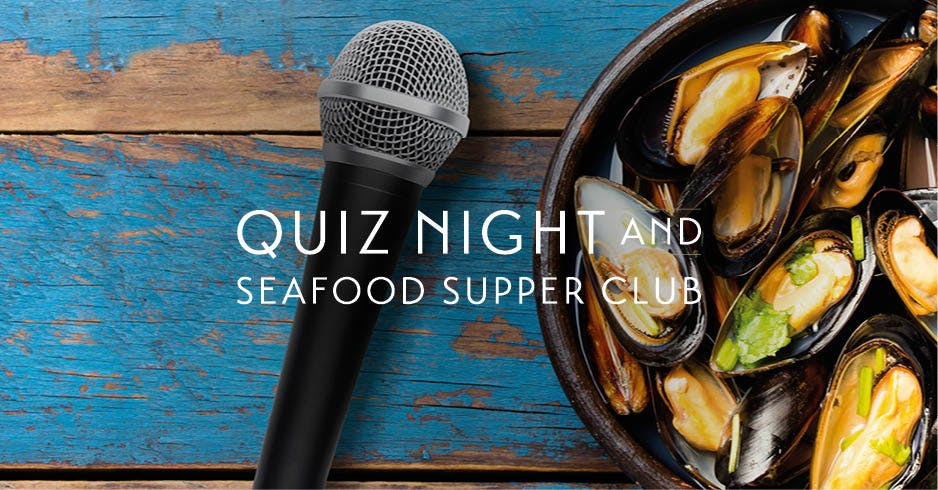 Seafood Supper Club & Quiz Night in Loch Lomond