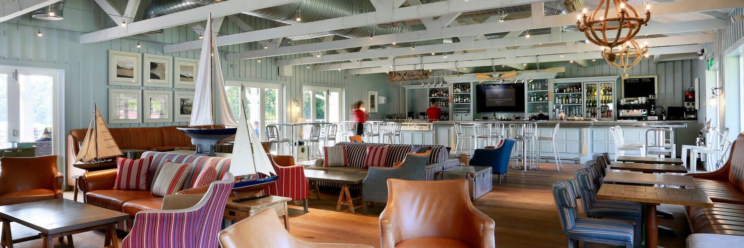 the boat house restaurant at cameron house in loch lomond. Black Bedroom Furniture Sets. Home Design Ideas