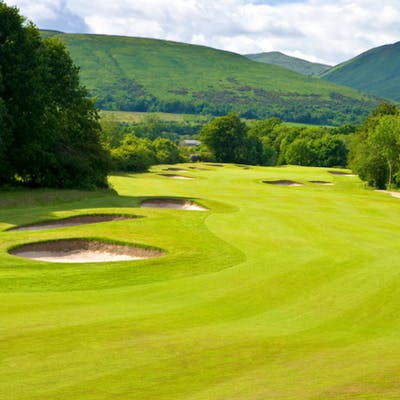 Golf Course Fairway in Loch Lomond
