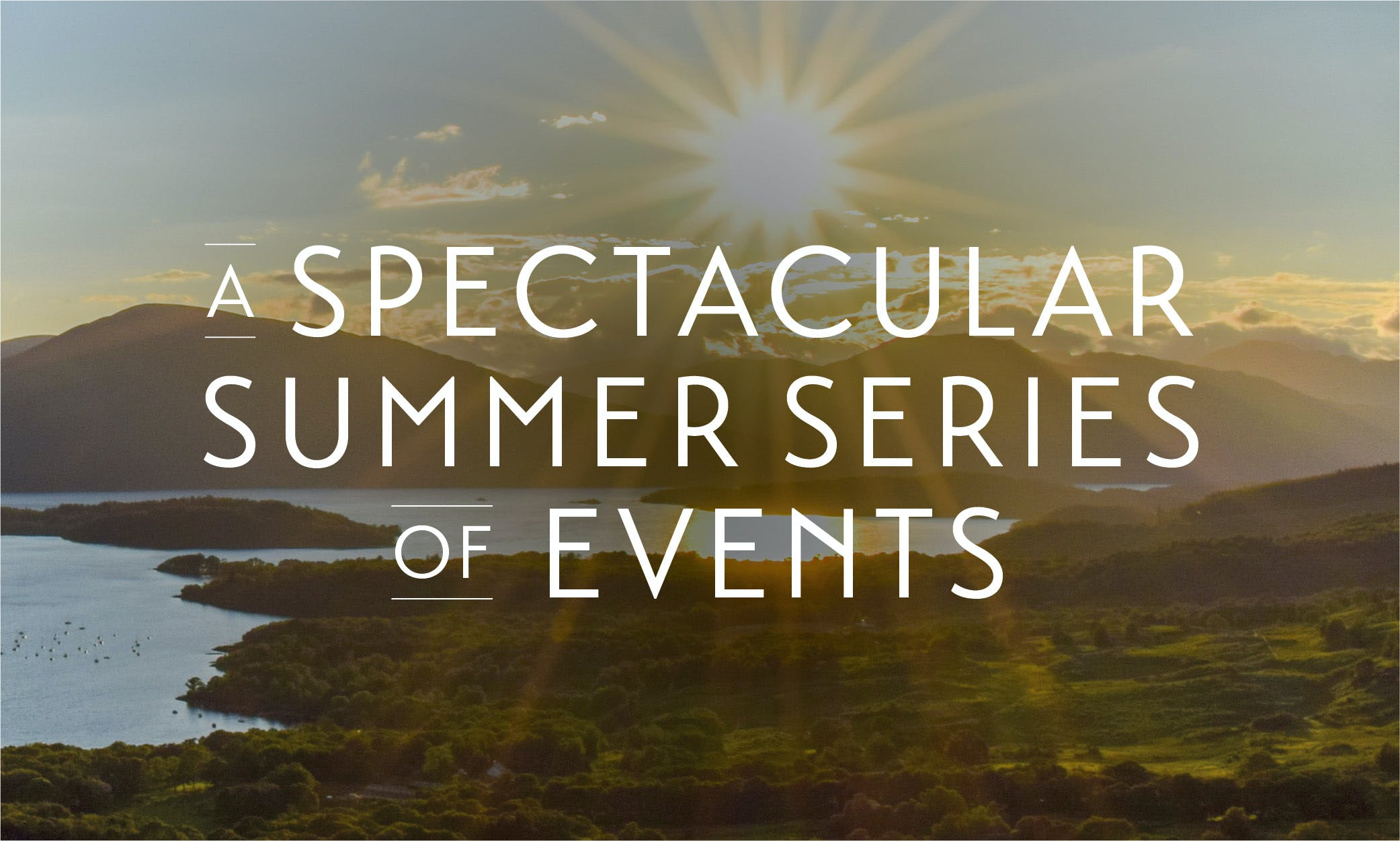Loch Lomond Summer Events
