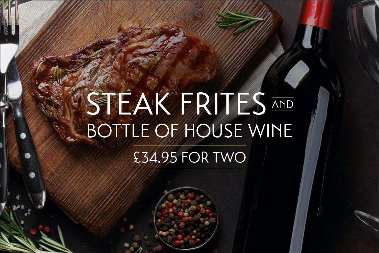 Steak & Wine Offer in Loch Lomond