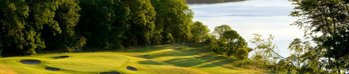 Carrick Golf Course Green & Loch Lomond