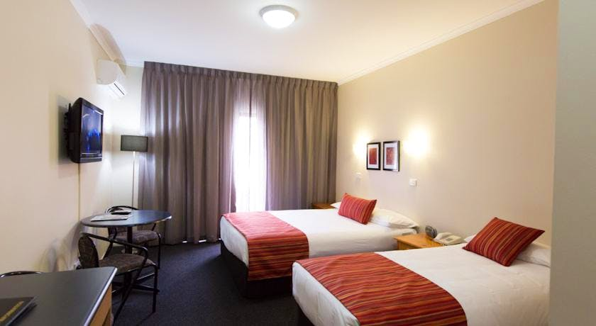 Ballarat motel accomodation – Twin room