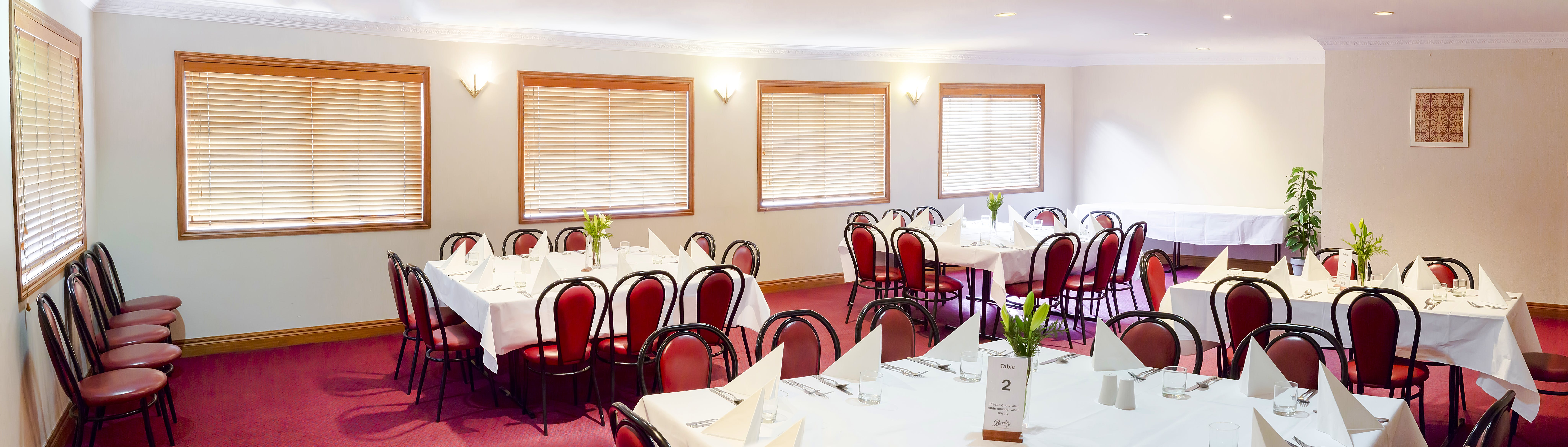 Conference & function venues – Spacious function venue