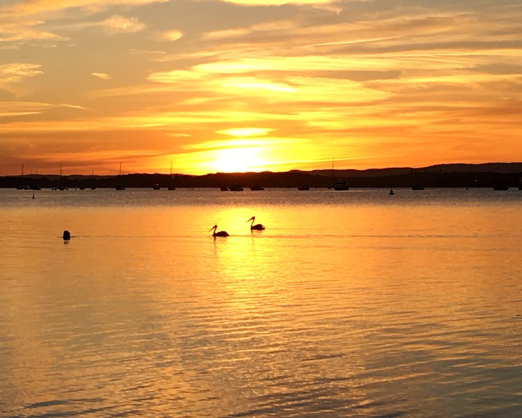 Sunset on Lake Macquarie