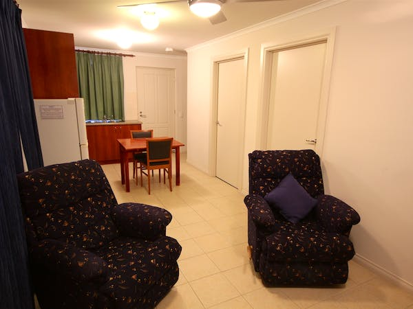 Superior Motel Suite Living Area