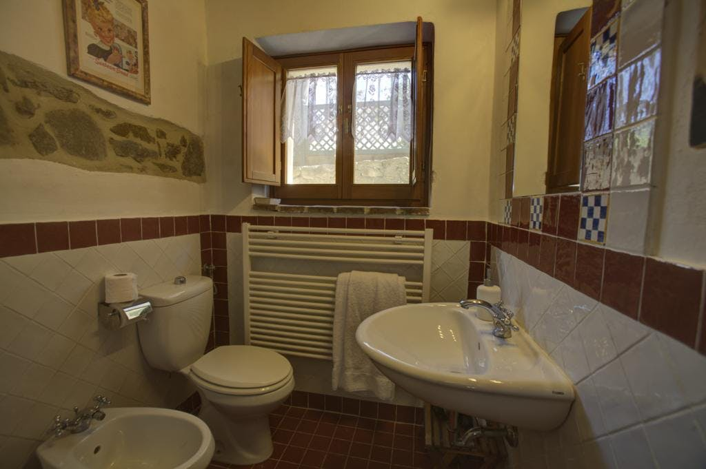 bathroom in apartament