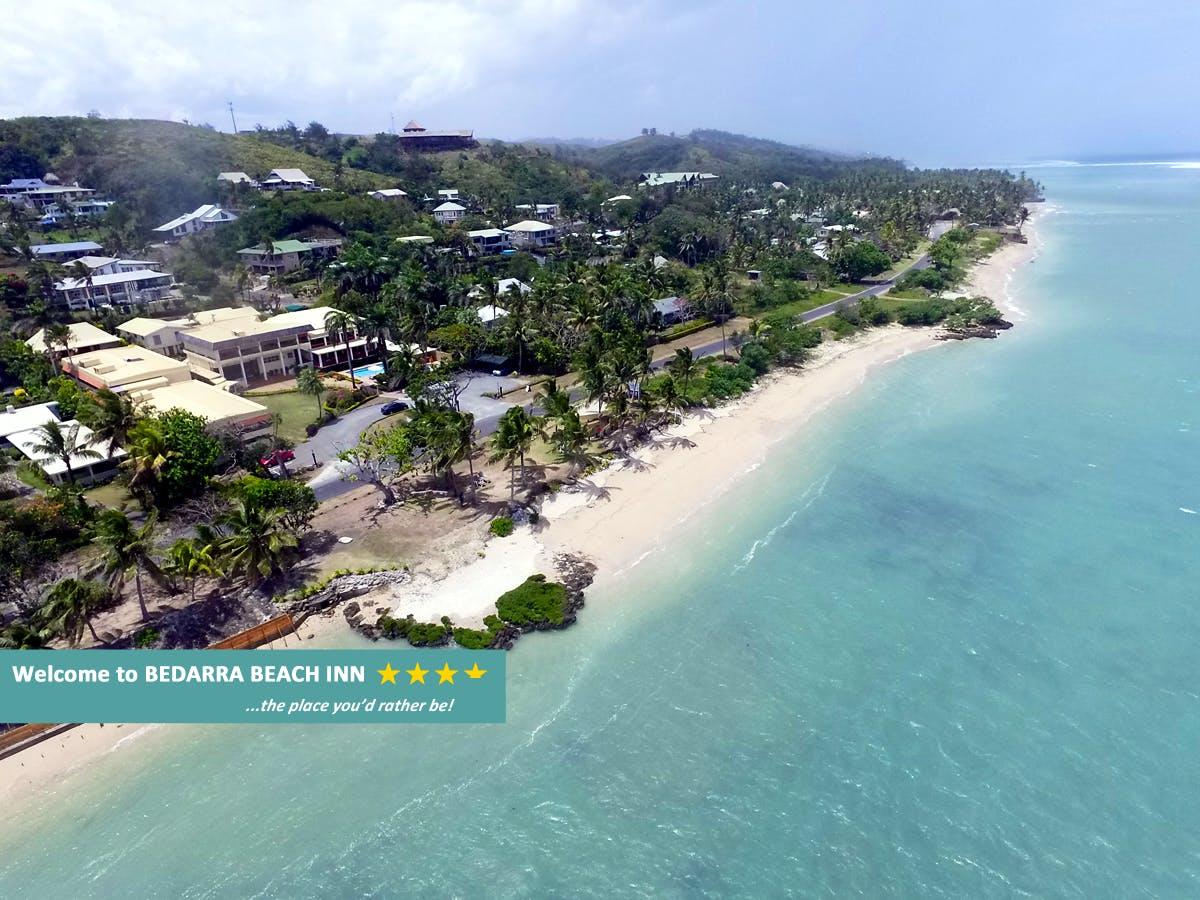 Bedarra Beach Inn Aerial View