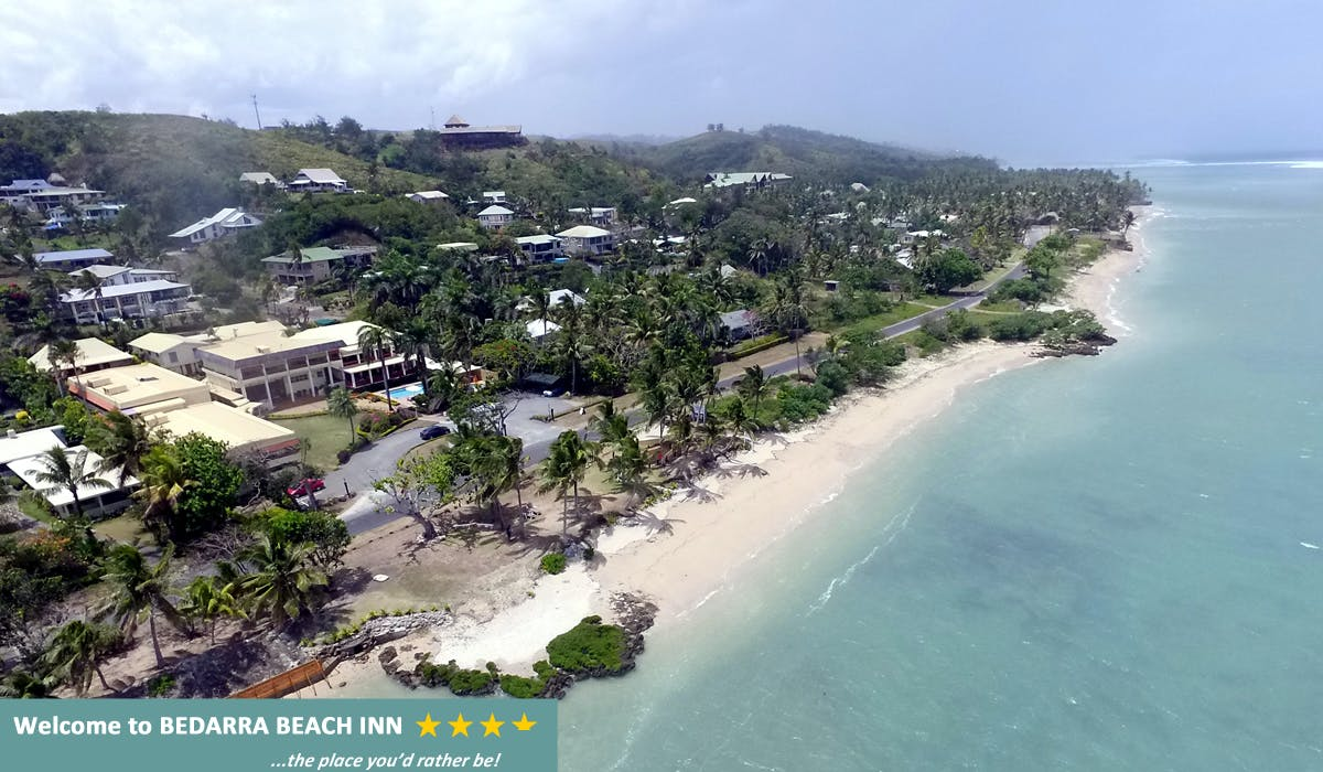 Bedarra Beach Inn - Aerial View