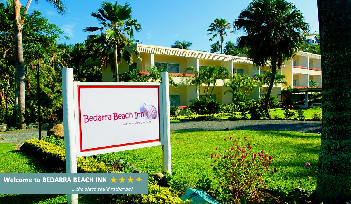 Bedarra Beach Inn - Front Entrance