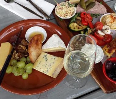 Waratah Hills Winery cheese platters