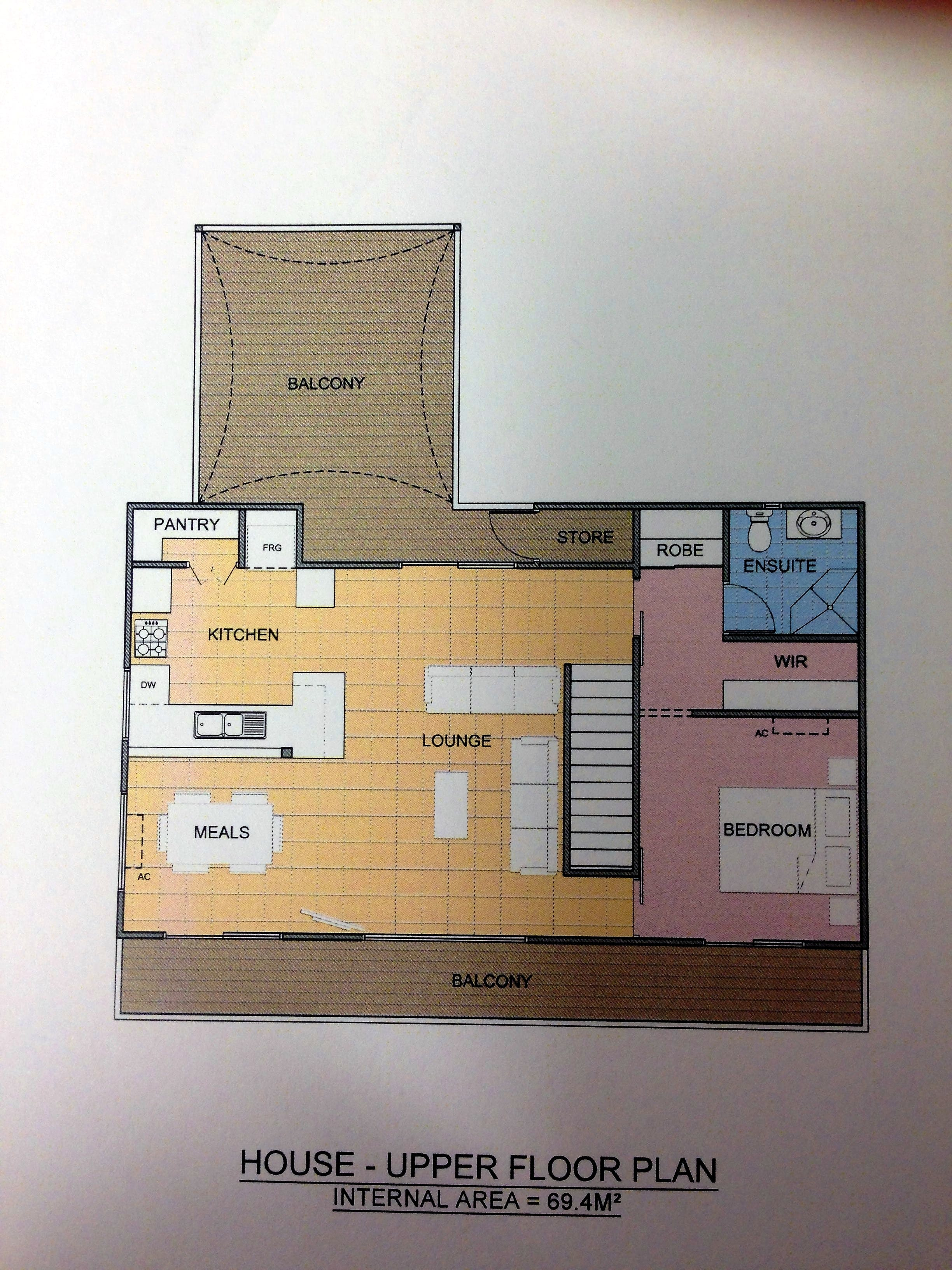 HOUSE Upstairs Floorplan