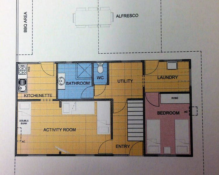 HOUSE Downstairs Floorplan