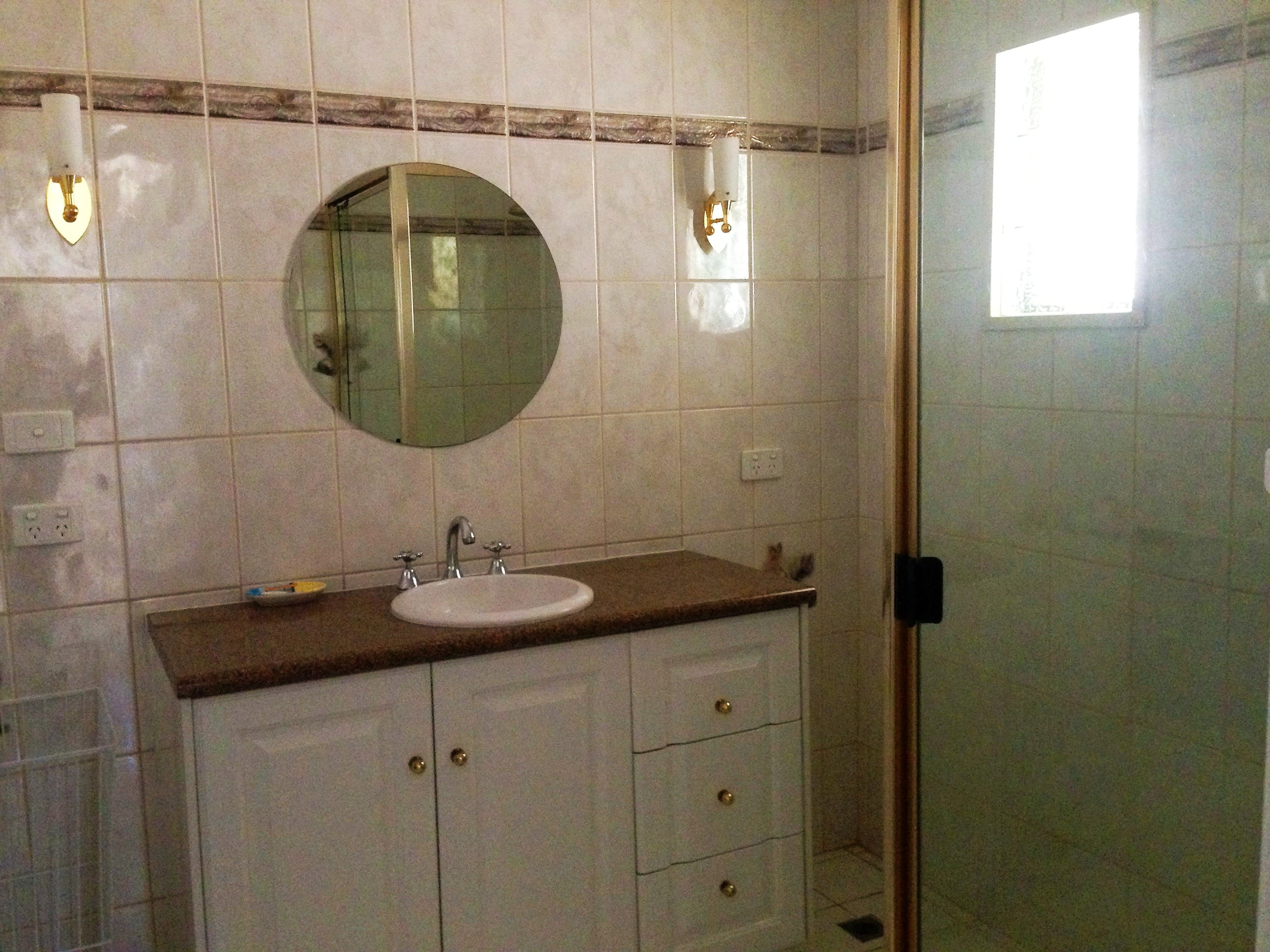 HOUSE bathroom (downstairs)