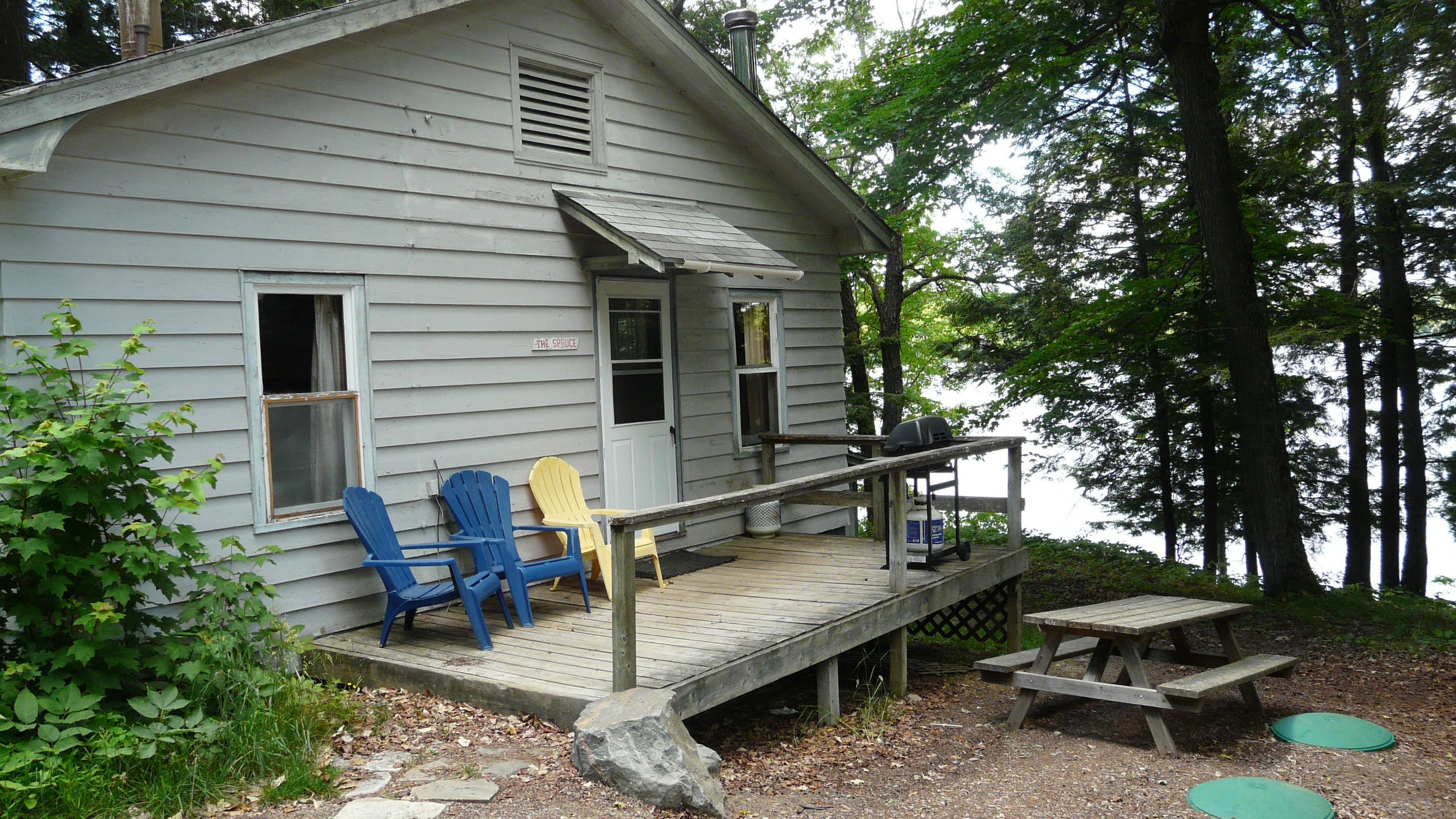 images cottage to huntsville rent for staircase on near tasso district lake in enlarge muskoka rentals below of click