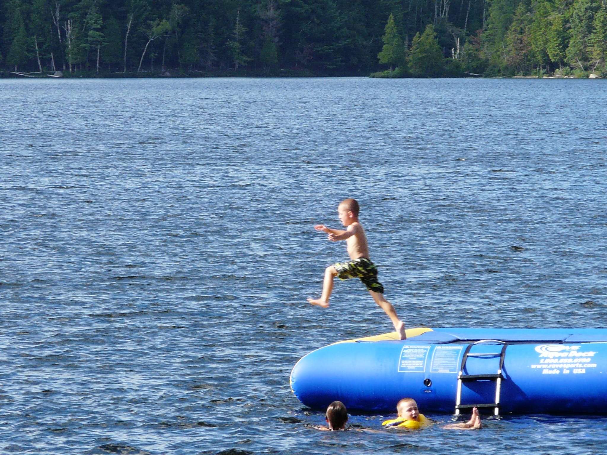 Children love it here at Walker Lake Resort in Muskoka near Huntsville and Algonquin Park