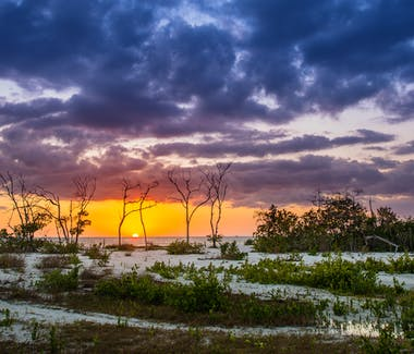 Sunset at Lover's Key State Park