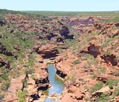 Gorges at Kalbarri
