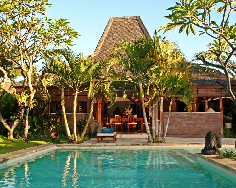 2/3 bedrooms villas with javanese style