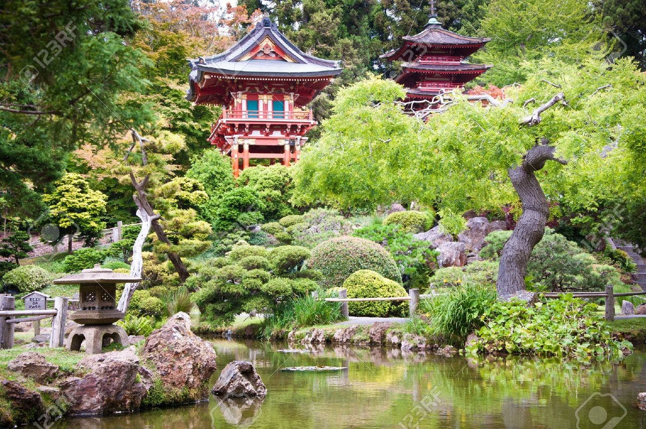 The Dylan Hotel- Japanese Gardens at the Golden Gate Park. Public transportation available from The Dylan