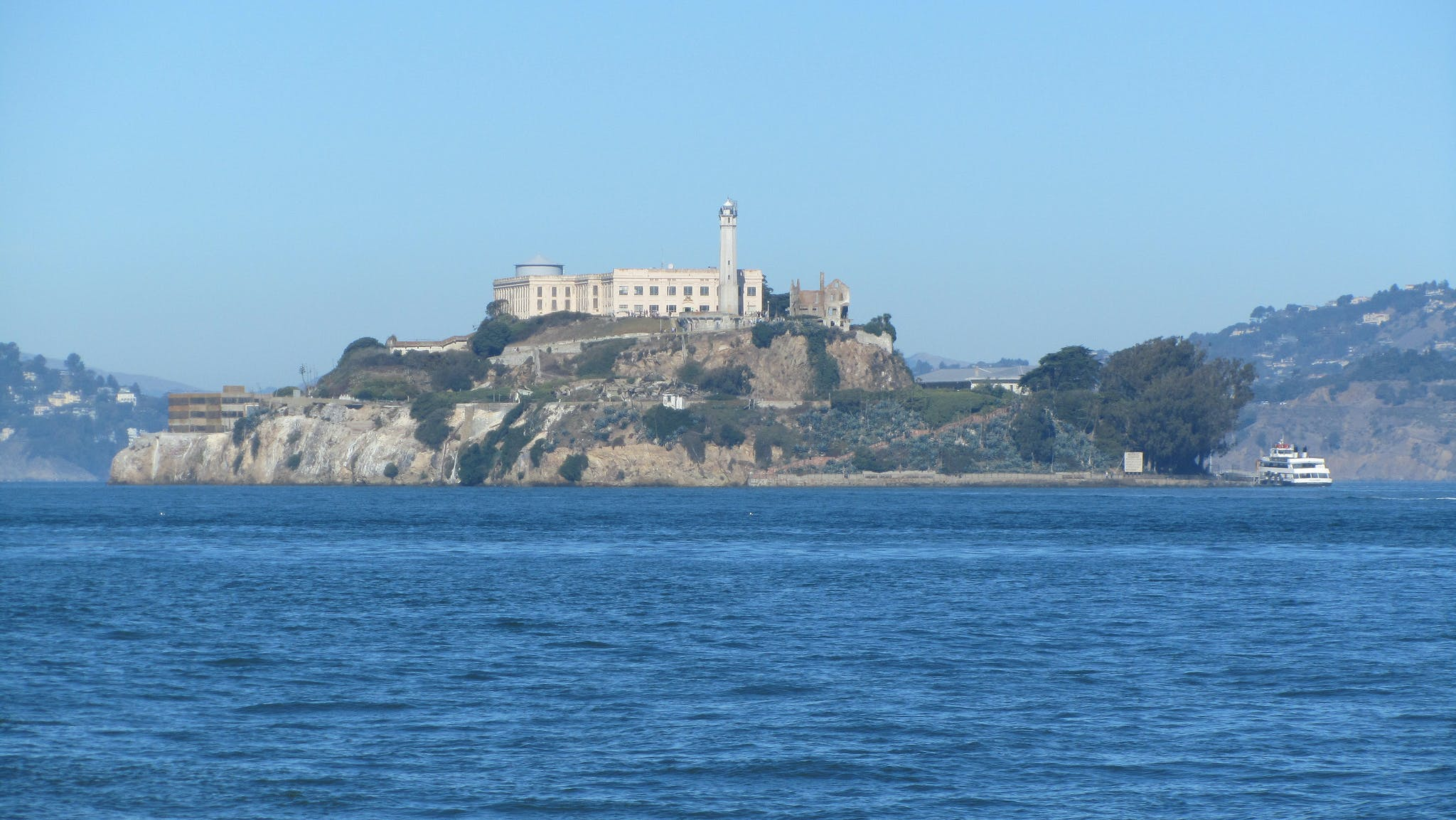 Alcatraz Island Tours from Embarcadero. BART Station is close to The Dylan Hotel