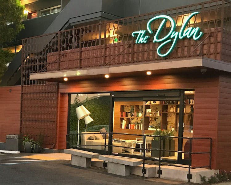The Dylan Hotel Entrance