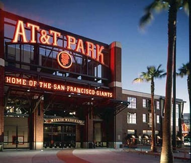 San Francisco Giants. Ball Park. Caltrain to 4th Street & King Street. Caltrain is 3 minutes walking distance from The Dylan