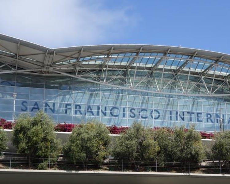 San Francisco Airport (SFO) is 1.5 mile away from The Dylan Hotel