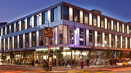 The Dylan Hotel- The SFJAZZ Center is a music venue in the Hayes Valley neighborhood of San Francisco.