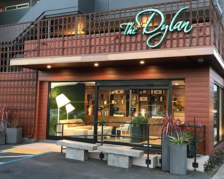 The Dylan Hotel at SFO entrance
