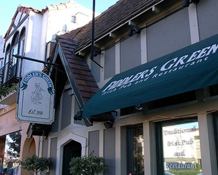 Fiddlers Green, Millbrae. 5 minute walk from The Dylan Hotel