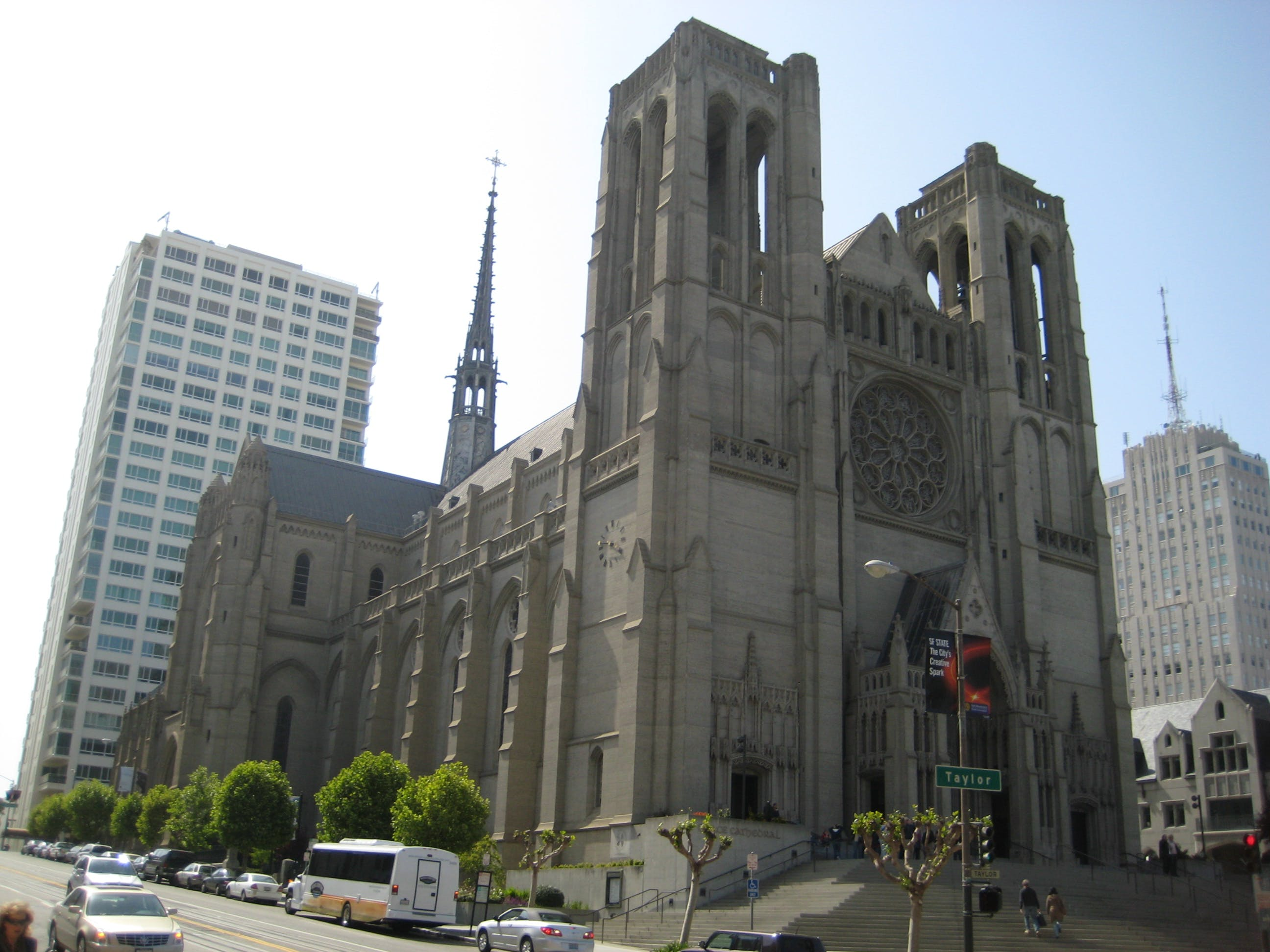 The Dylan Hotel - Grace Cathedral is an Episcopal cathedral on Nob Hill.
