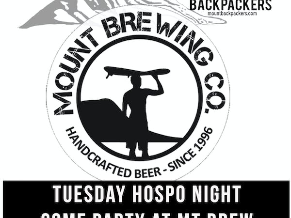 Tuesday night is fun down at Mount Brew, discounted drinks, lots of new people, good times