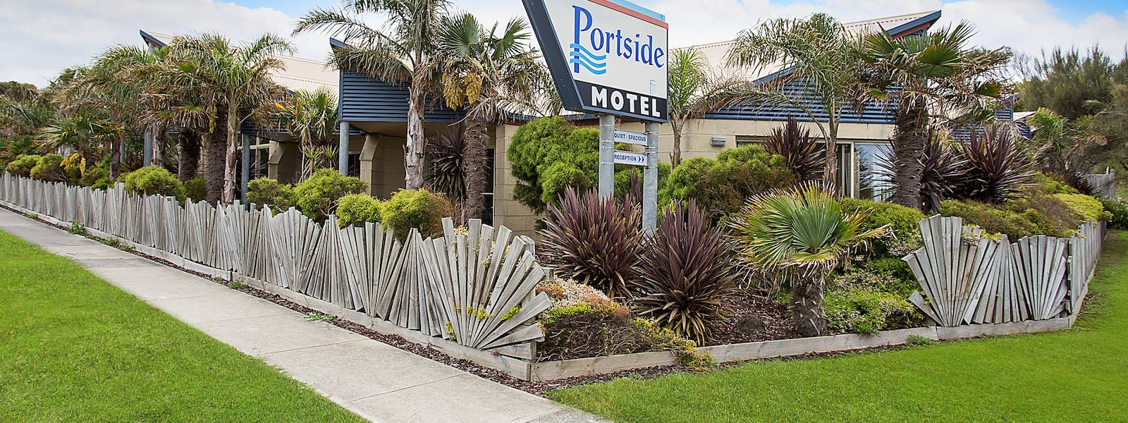 Portside Motel unique style design and garden