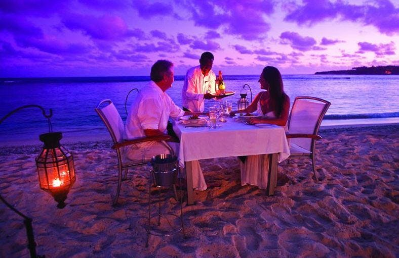 Romantic Chefs Dinner on the beach