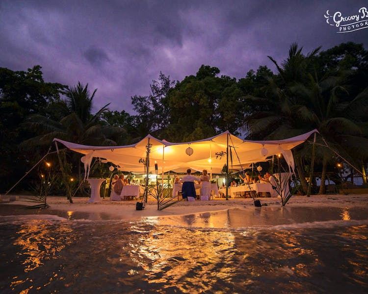 Calypso Beach Wedding Marquee