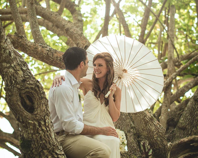Plenty of places to share a romantic moment on our 16 acres of paradise