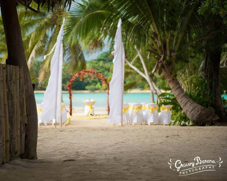 Coconut Beach Wedding Ceremony