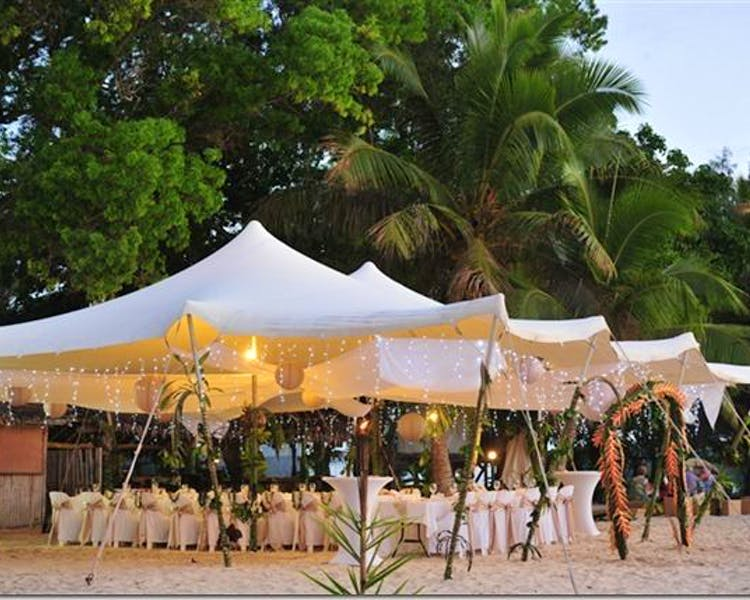 Calypso Beach Wedding Reception