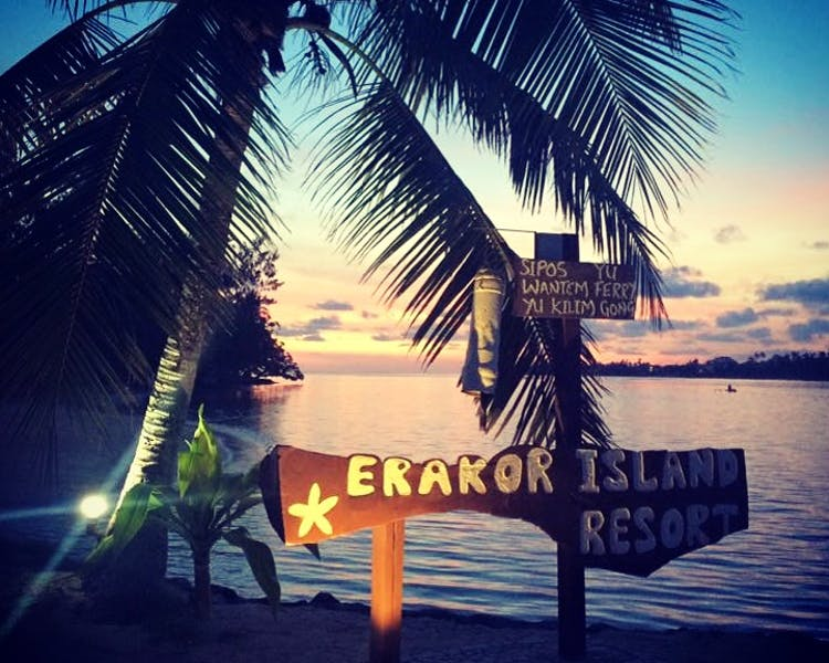 Erakor Island Resort By Night