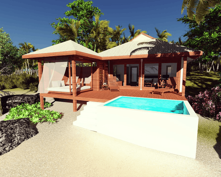 Beachfront Deluxe POOL Villas