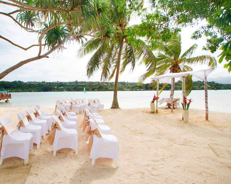 Coconut Beach Gorgeous Wedding Ceremony