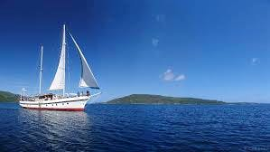 Touring Vanuatu, what better way than a day out sailing.